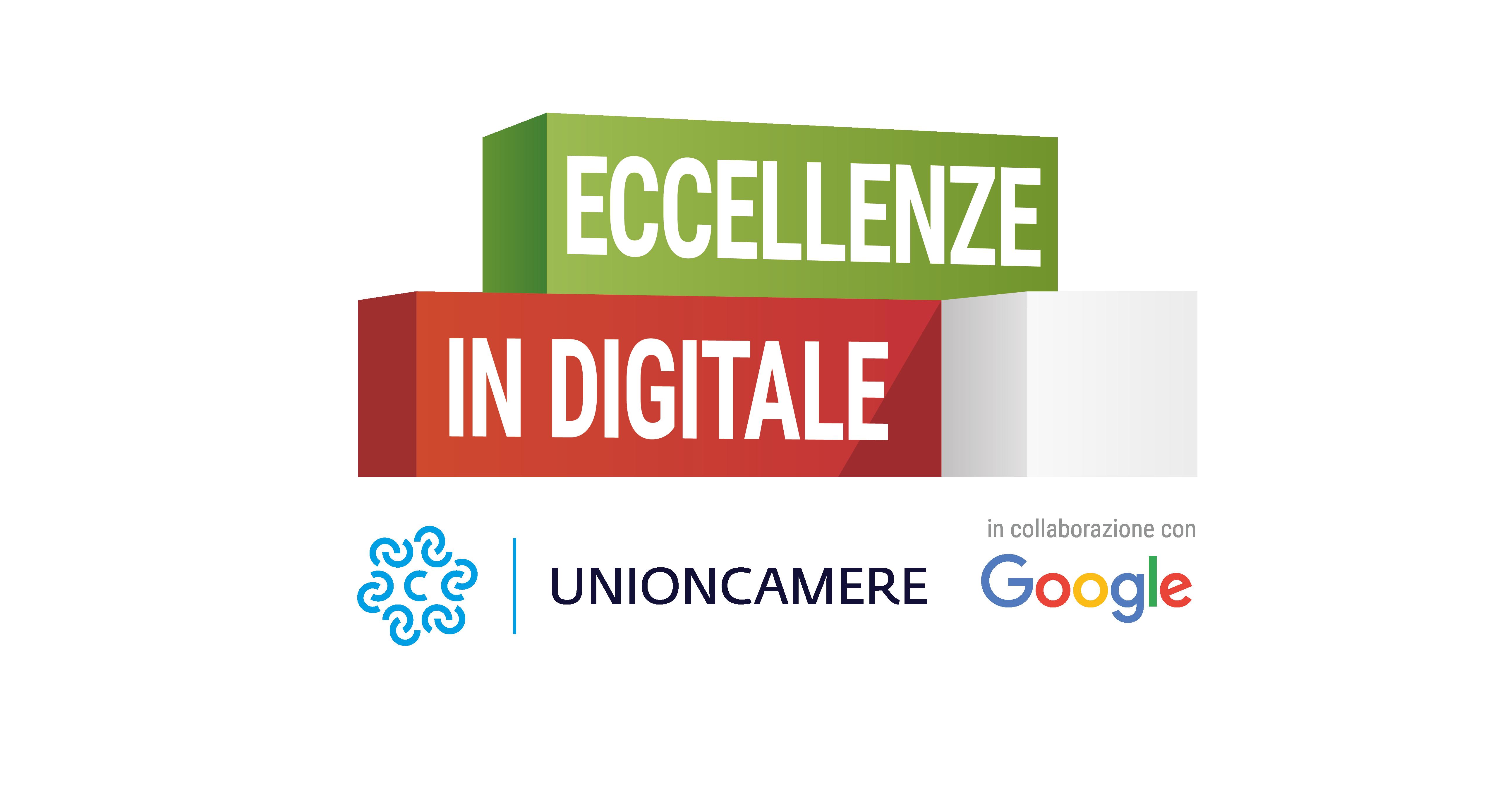 """Torna """"Eccellenze in Digitale"""" il progetto promosso da Unioncamere e Google, in collaborazione con le associazioni di categoria: si parte martedì 27 novembre alle ore 9,30"""