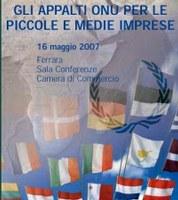 O.N.U. e imprese si sono incontrate alla Camera di Commercio di Ferrara